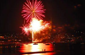 Tunarama Fireworks